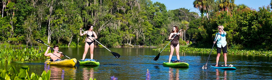 Silver Sprinsg State Park Stand Up Paddleboard and Kayak Rentals